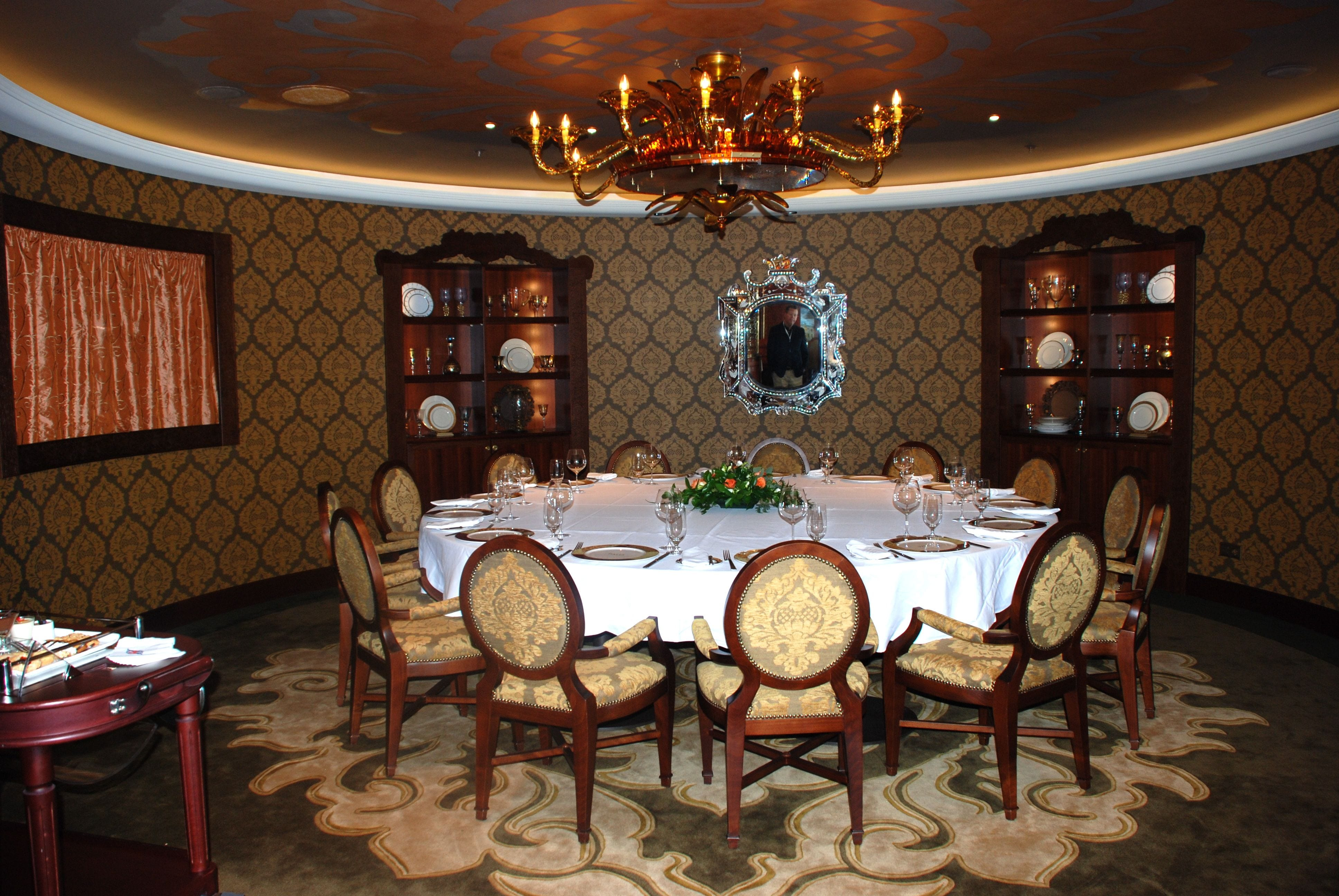 What Is A Ship Dining Room Called
