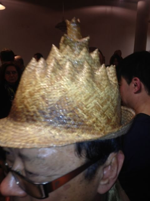 close up of the hat - amazing