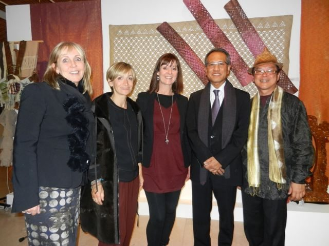 Amanda Hills, Anna Valentine, ME, His Excellency Dato High Commissioner of Malaysia and Edric Ong