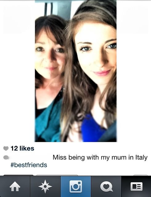 me and daughter:insta