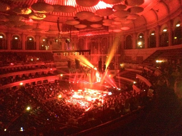 Albert Hall view