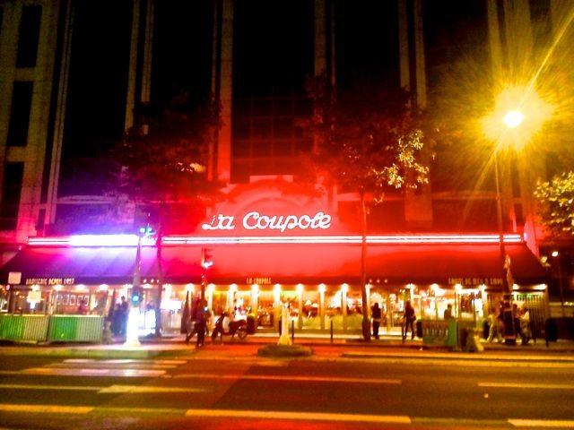 La Coupole outside 1