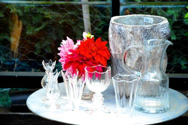 Pglass&flowers
