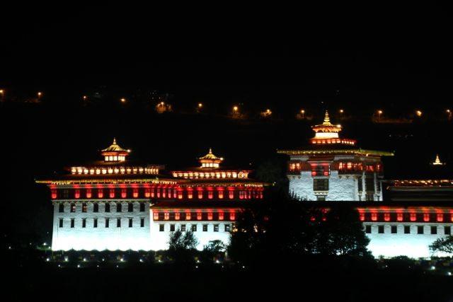 bhutan night