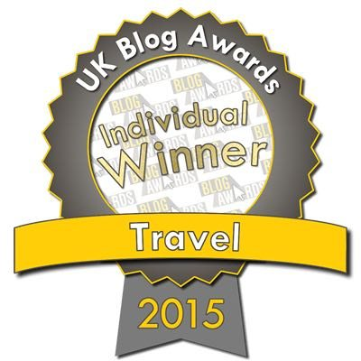UK Blog Travel Award Winner