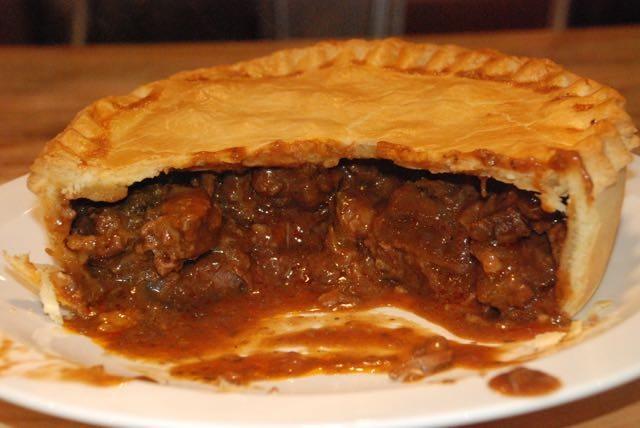the cut pie