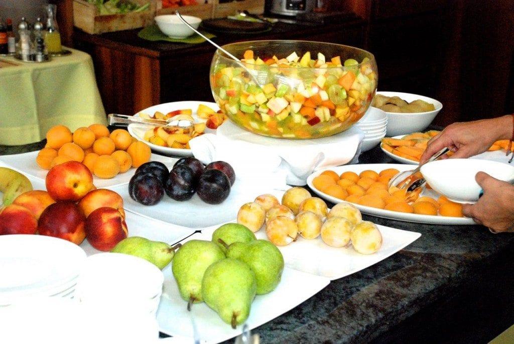 Lefay breakfast fruit