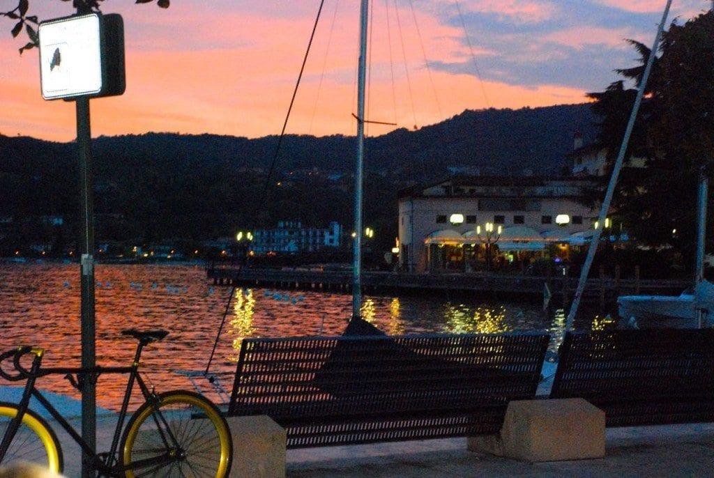 Lefay silo sunset & bike