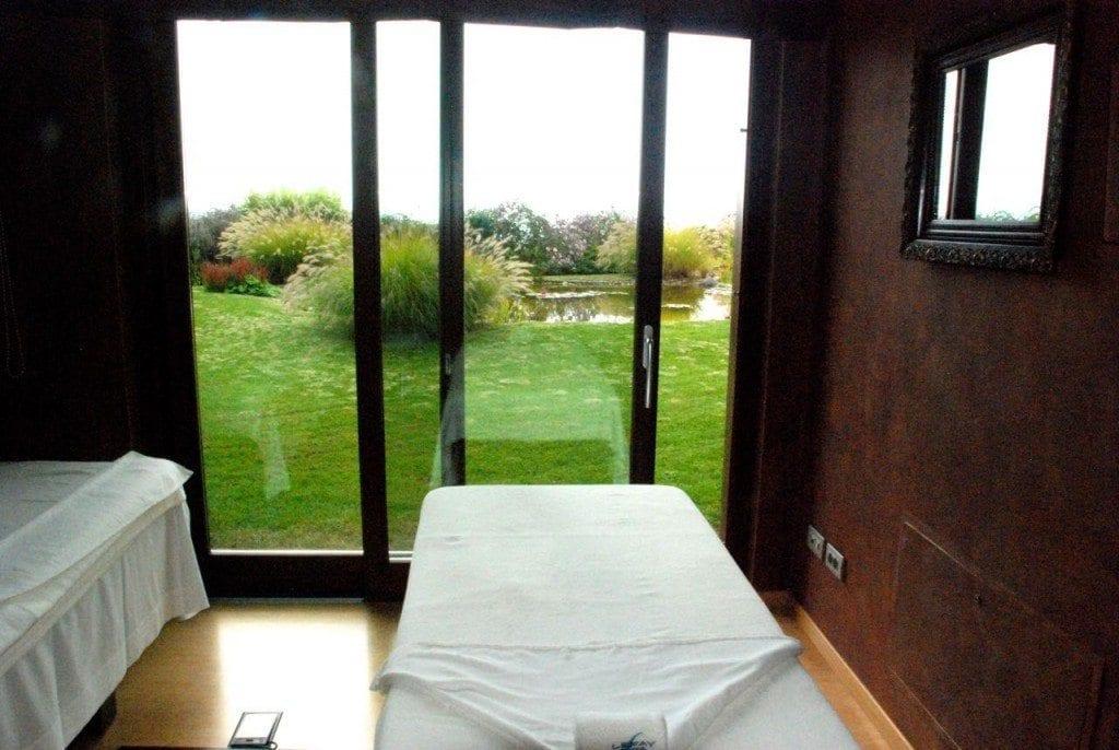 Lefay treatment room view