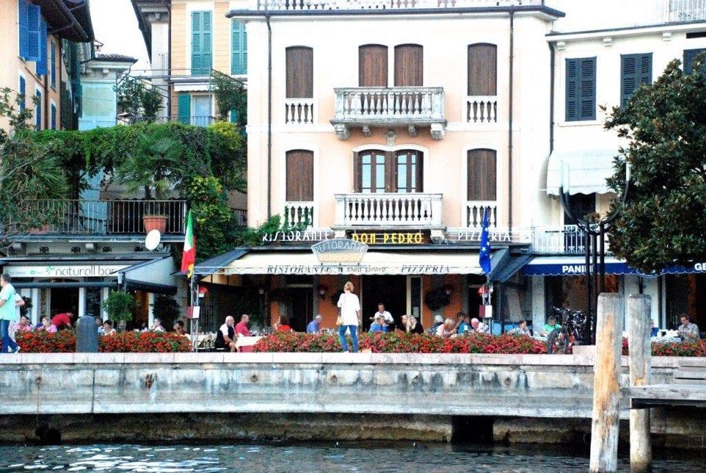 Lefay view from boat Silo Don Pedro