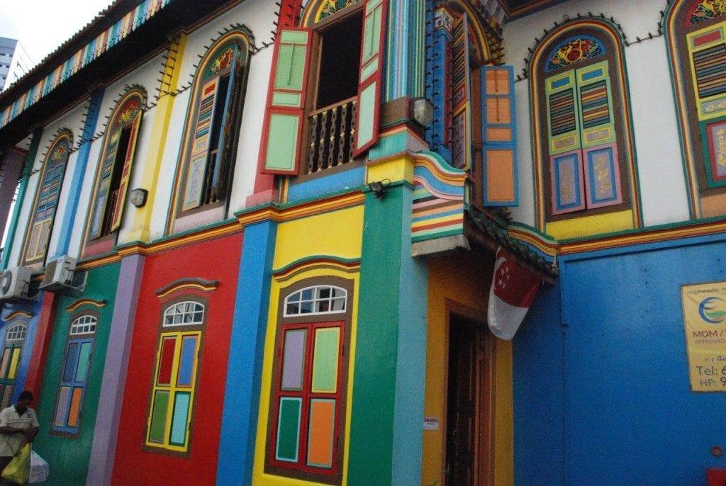 Little India colourful house
