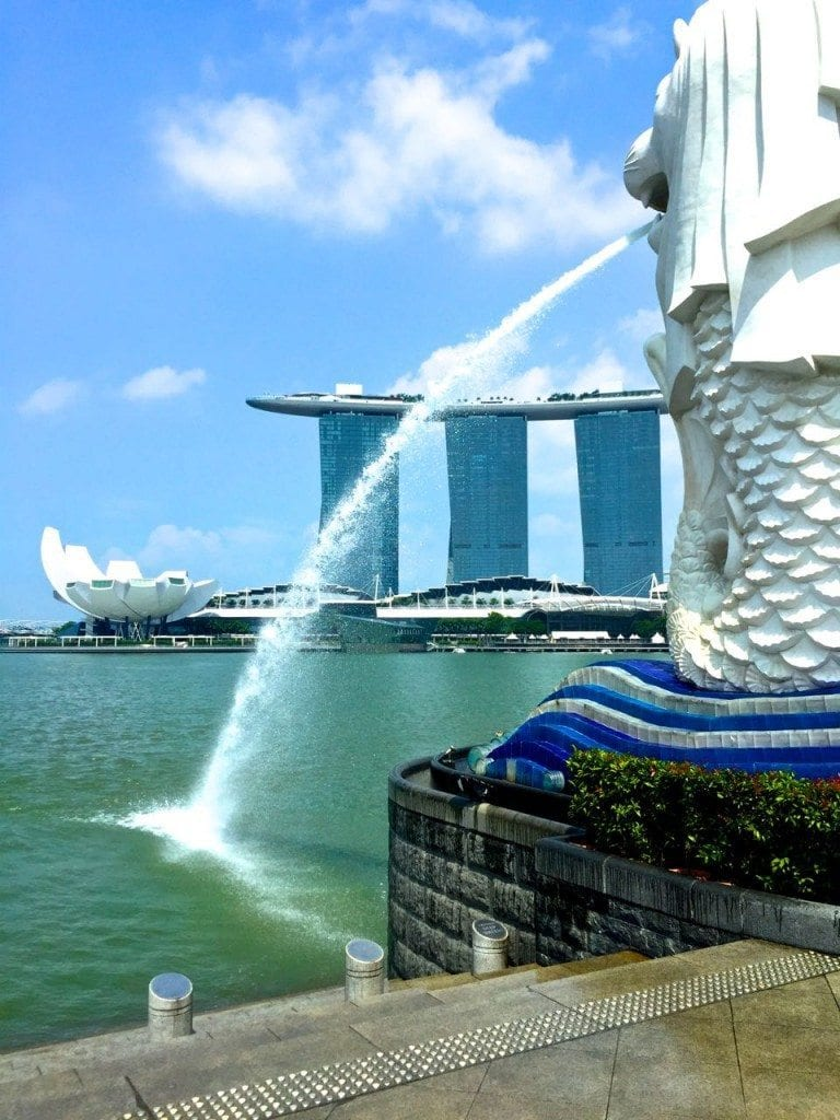 The Merlion - their national symbol