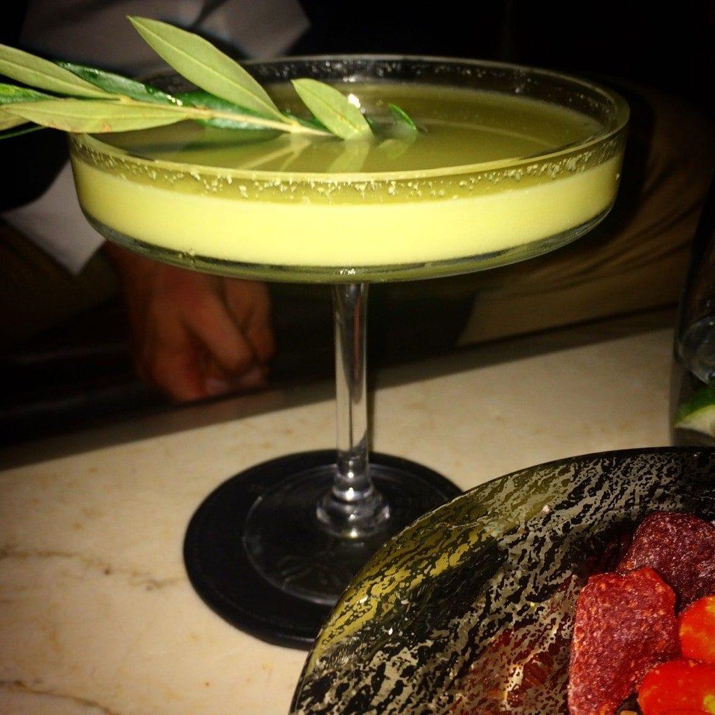 CN olive martini
