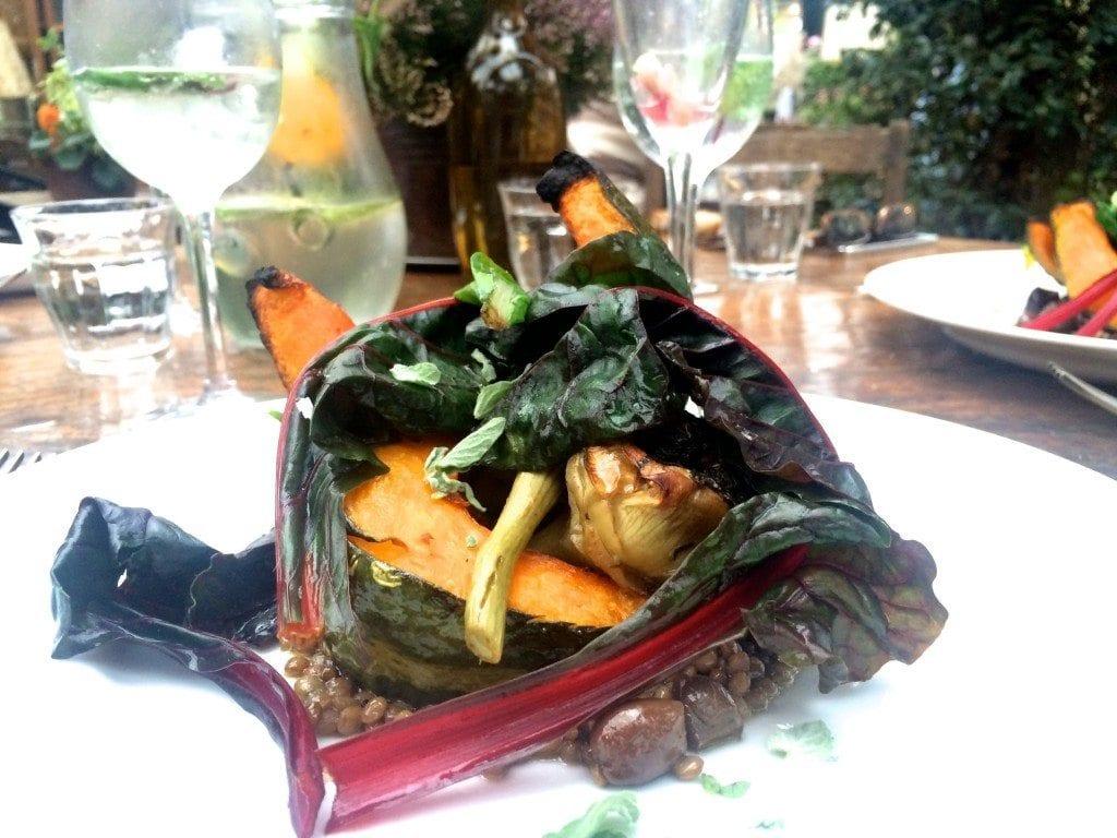 Bday Petersham food main
