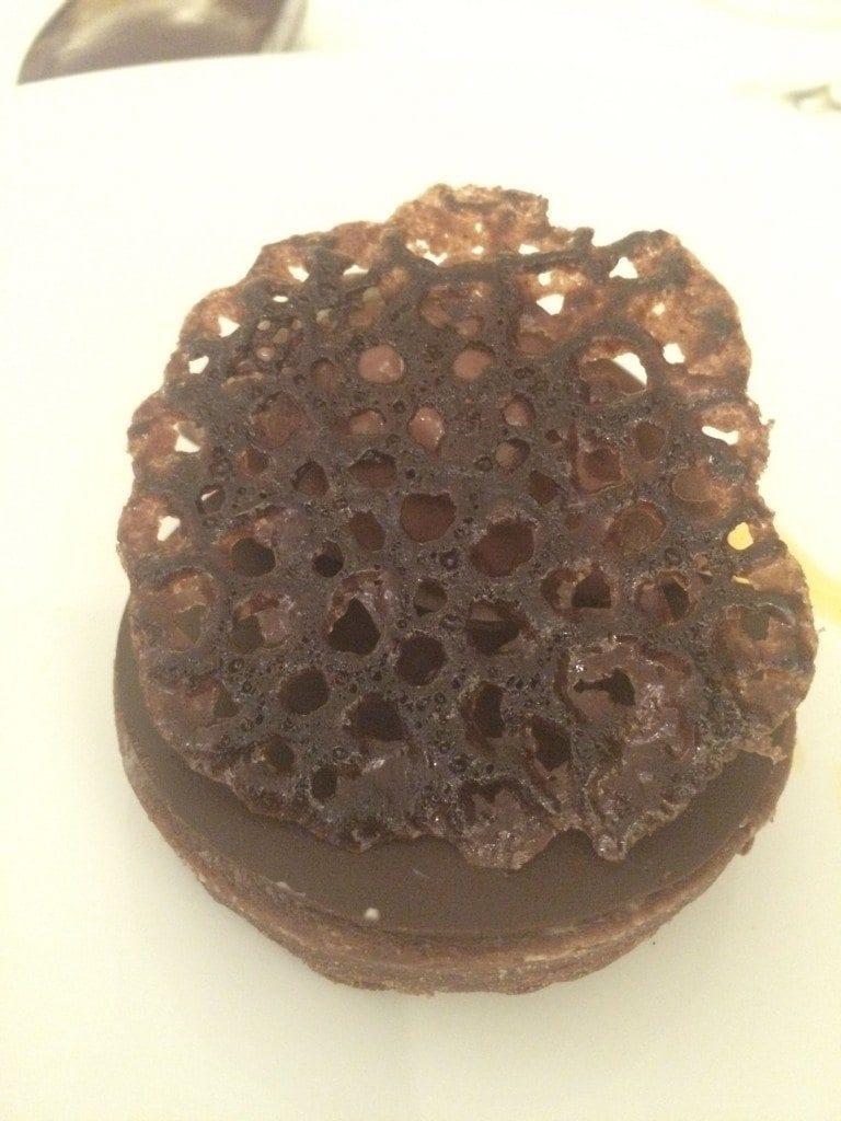 Lefay chocolate pudding