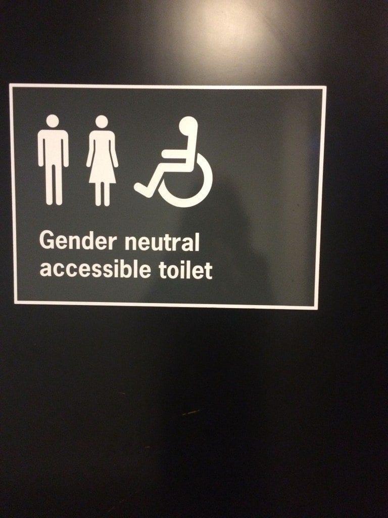 bafta gender neutral loo