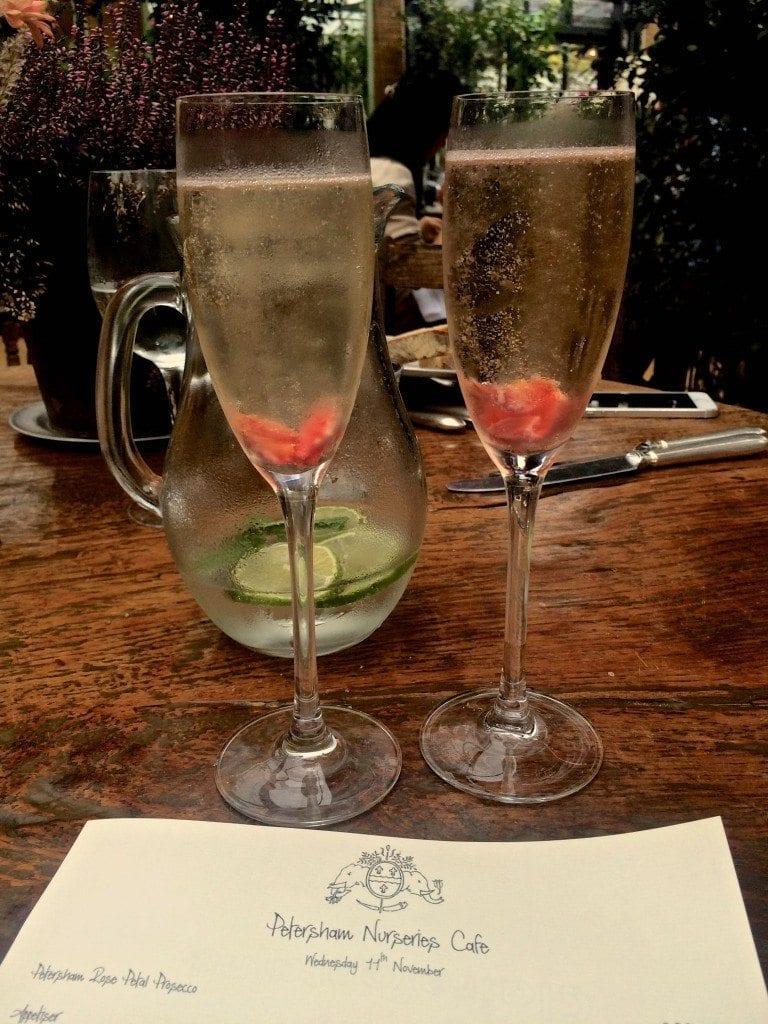 bday Petersham- champagne