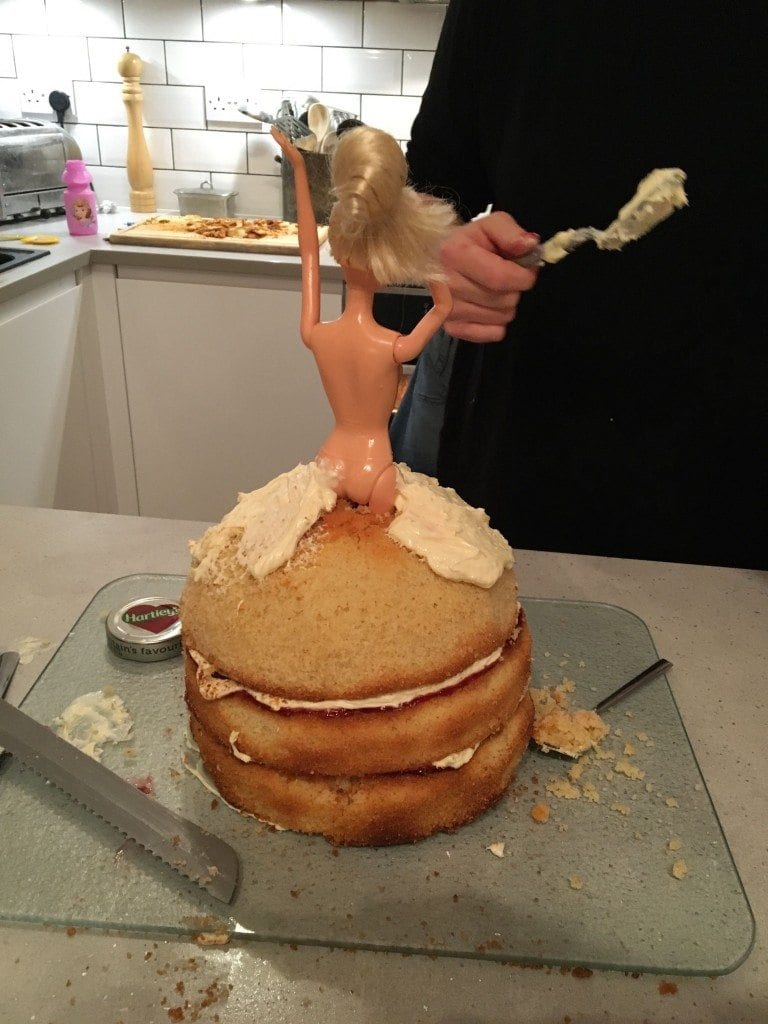How to make a barbie cake for How to make a vanilla cake from scratch