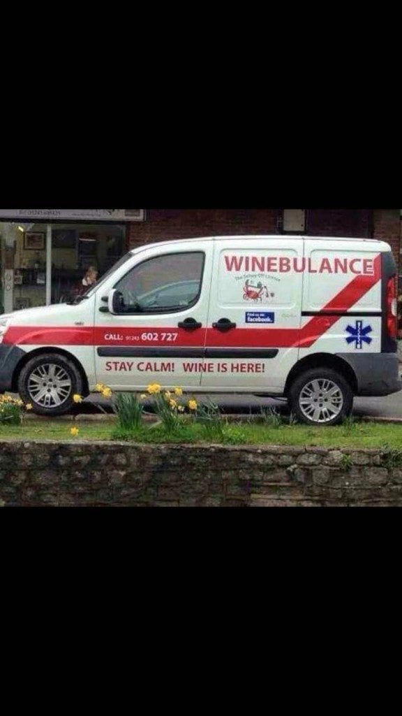 Wine ambulance