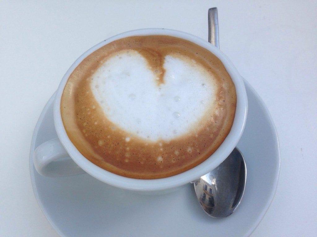 Cappucino heart