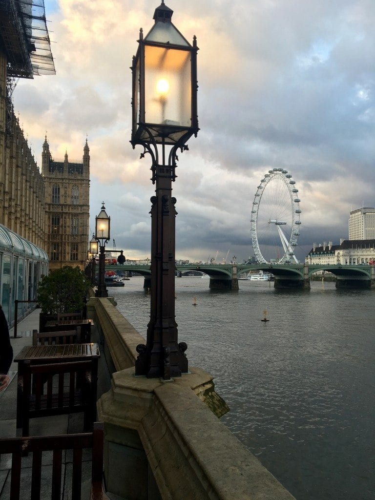 Palace of Westminster view