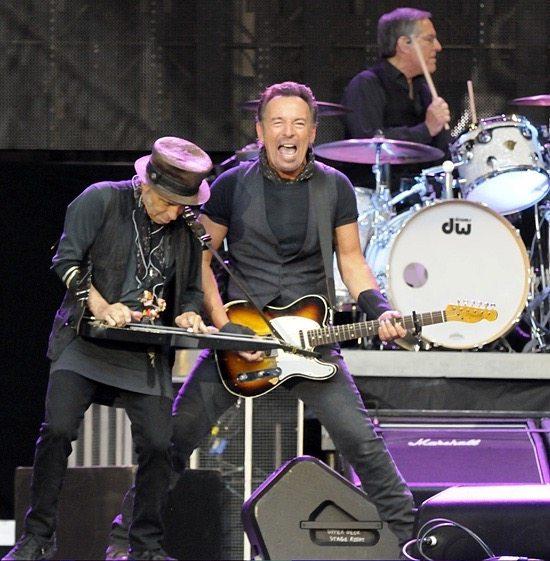 Bruce Springsteen close up