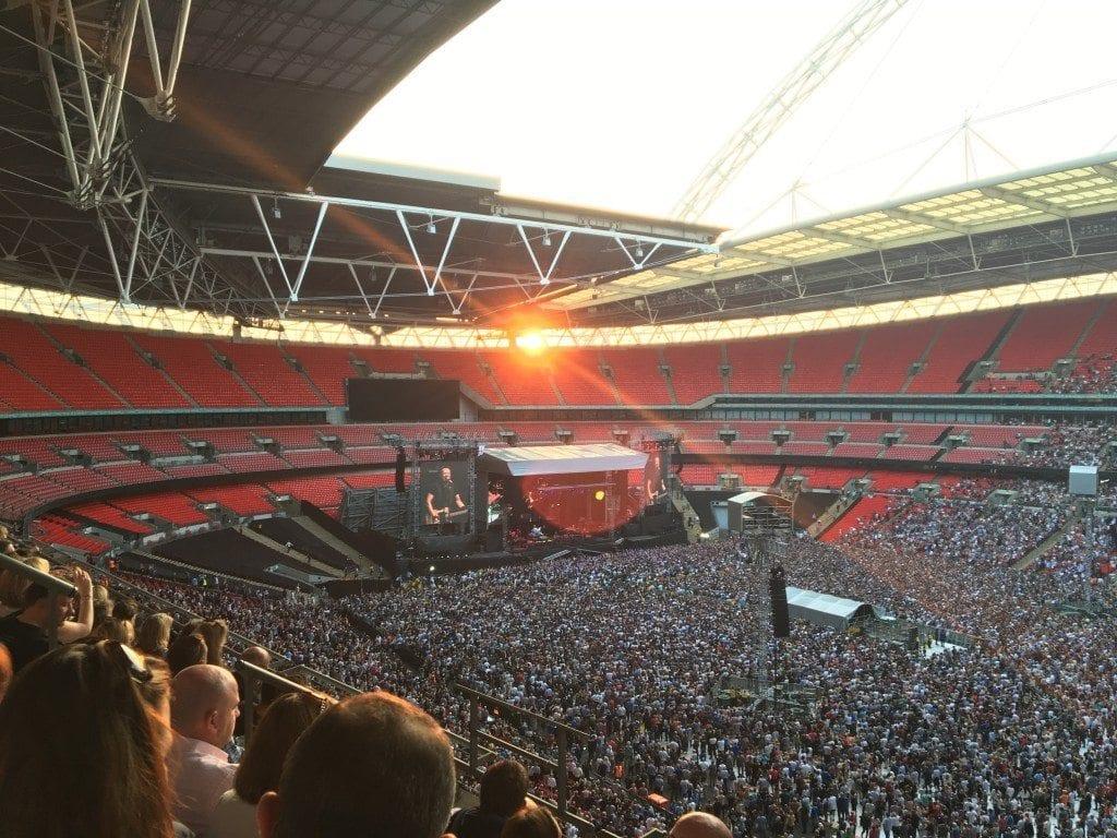 Bruce Springsteen sun