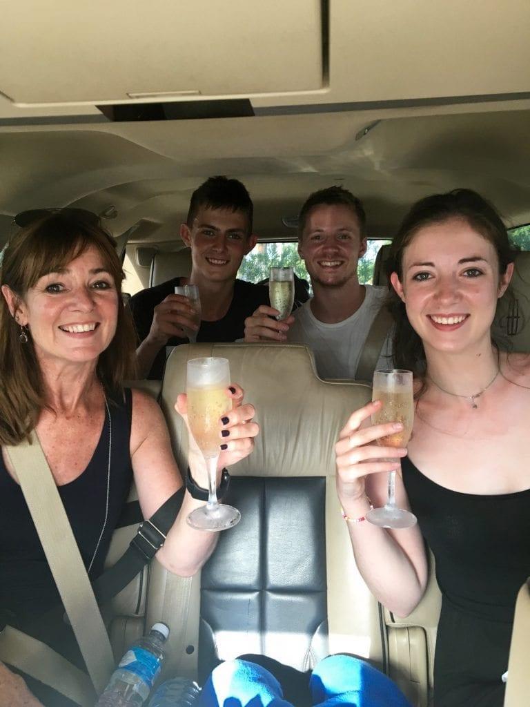 Arriving in Cancun