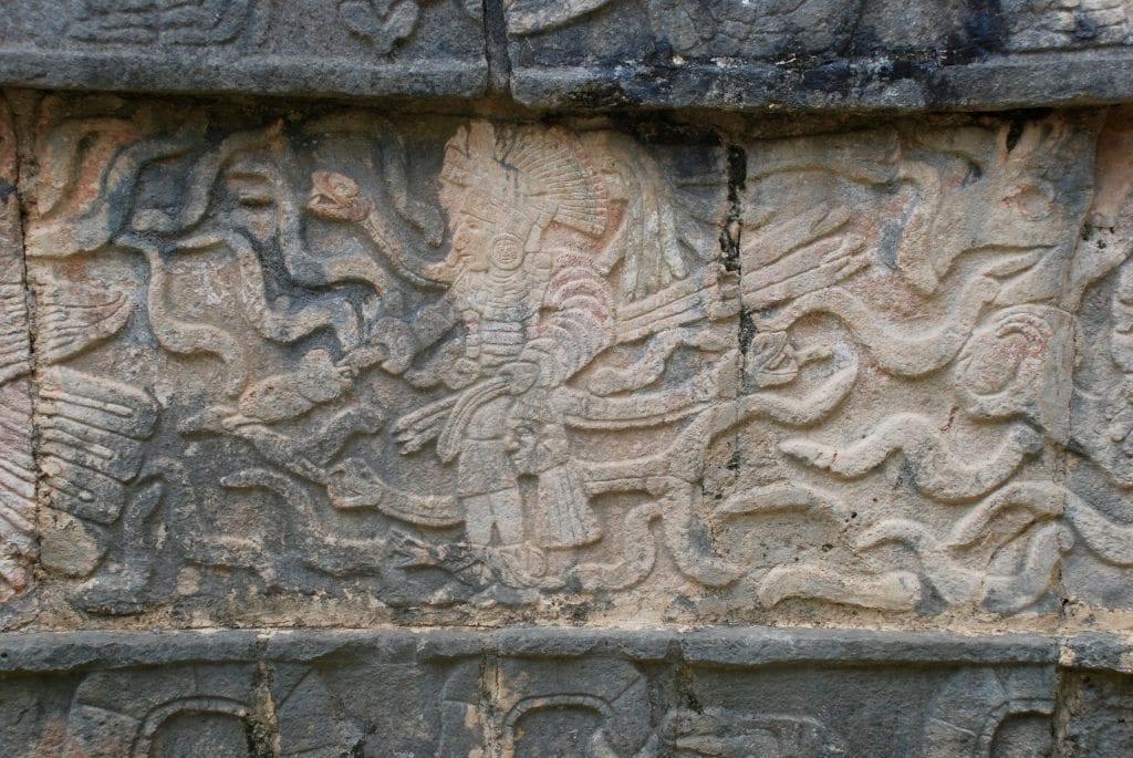 Chichen Itza carvings