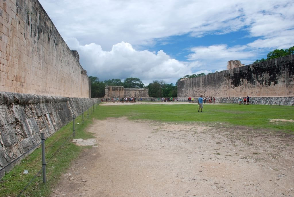 Chichen itza ball park