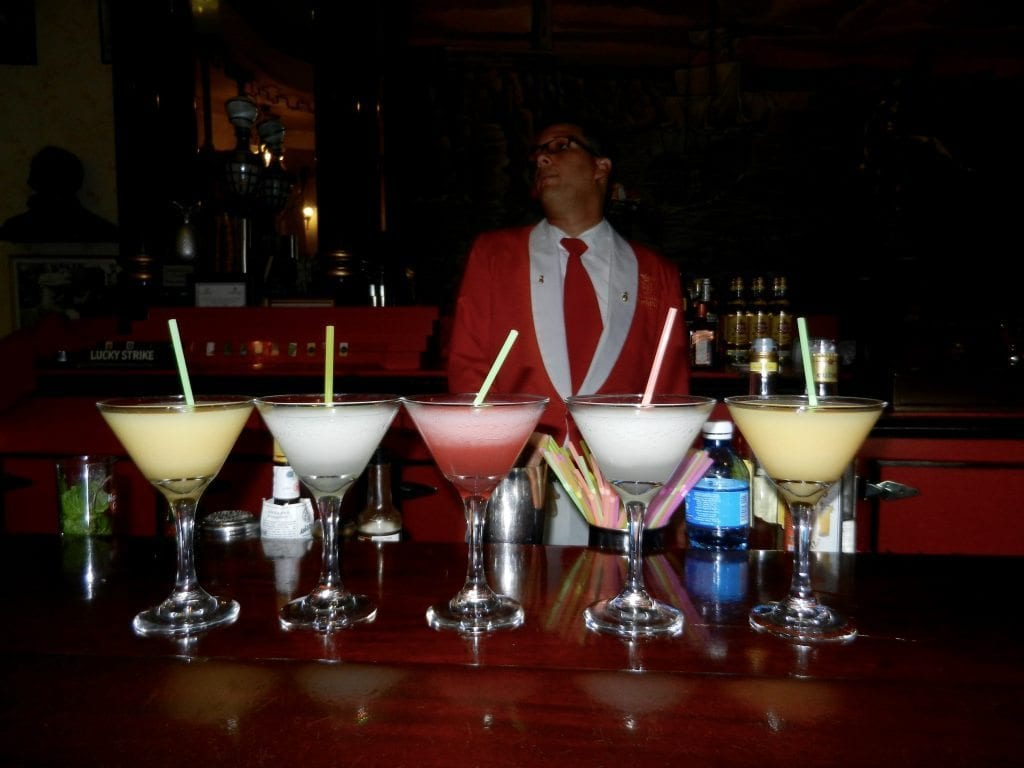 Floridita's daqhiri selection