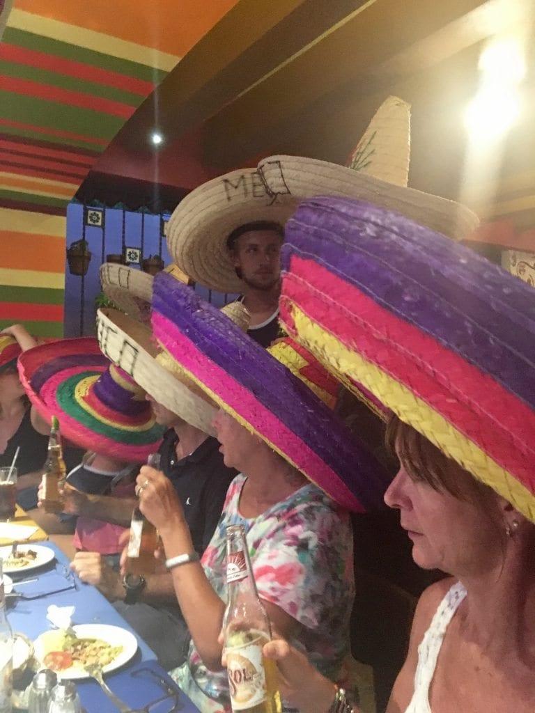Sombrero moment