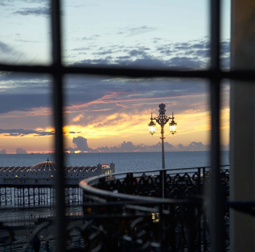 sunset-through-balcony-and-window