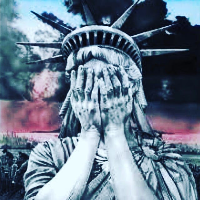 Trumped Statue of Liberty