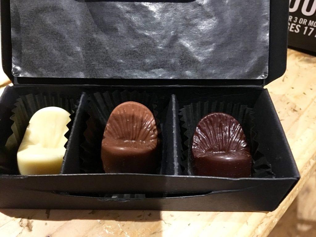 Edible Anus chocolates