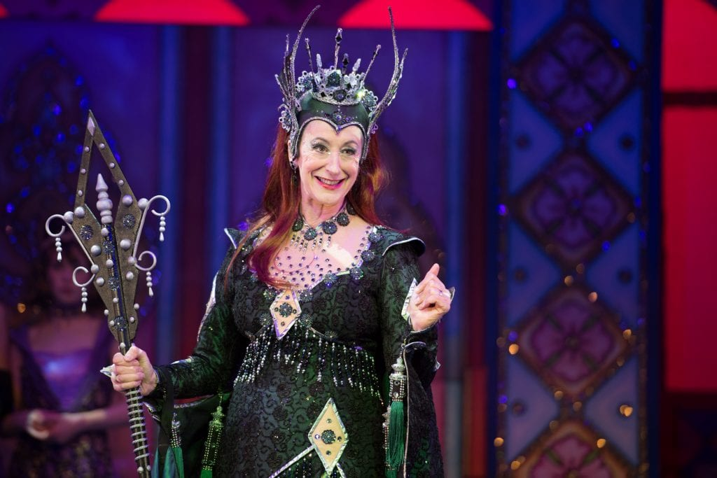 Maureen Lipman as the Wicked Fairy. Credit Craig Sugden