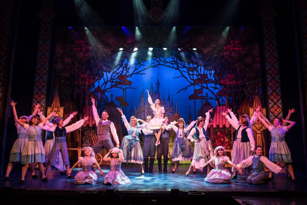 The Cast of Sleeping Beauty at Richmond Theatre. Credit Craig Sugden