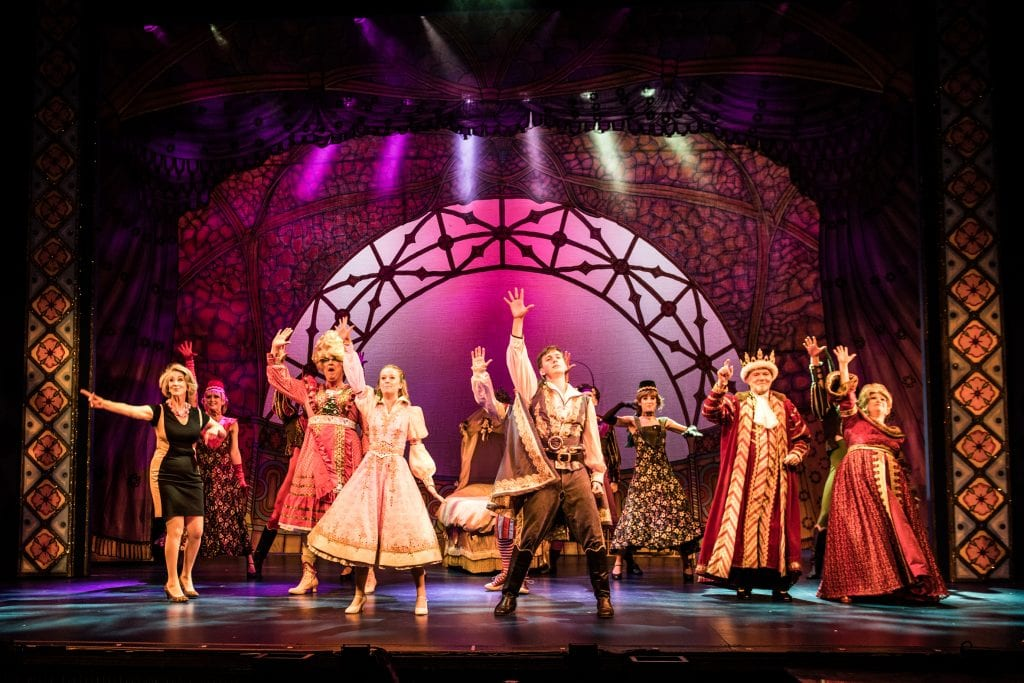 The Cast of SLEEPING BEAUTY. Credit Craig Sugden