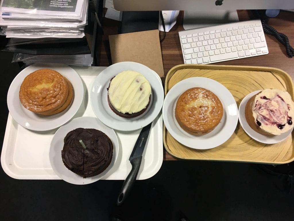 Work cakes