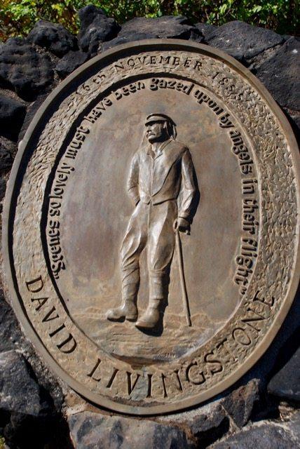David Livingstone's plaque