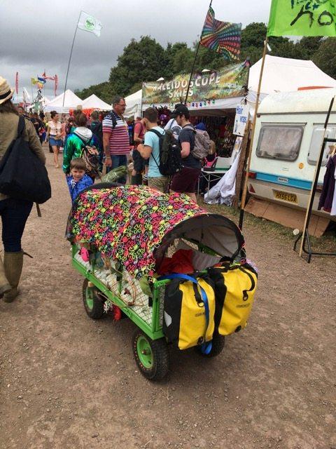 Glastonbury - kid mobile
