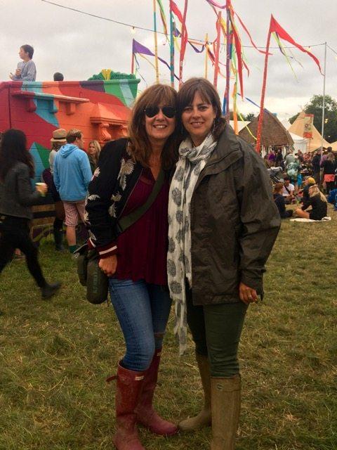 Glastonbury me and T