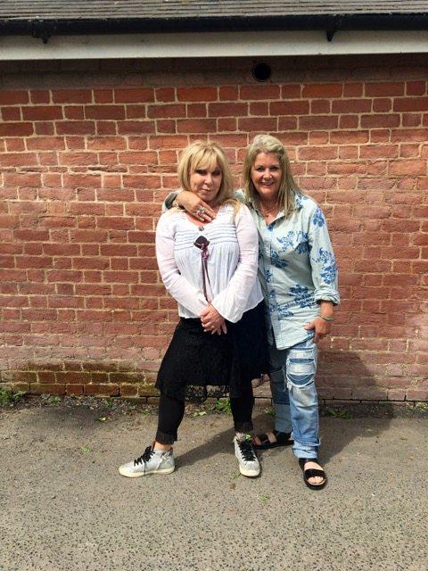 Janet Lance Hughes and Helen Lederer