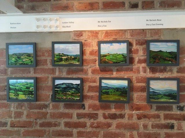 Janet Lance Hughes' landscapes