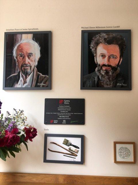 Janet Lance Hughes' portrait's