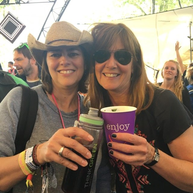 Me and T at Glastonbury
