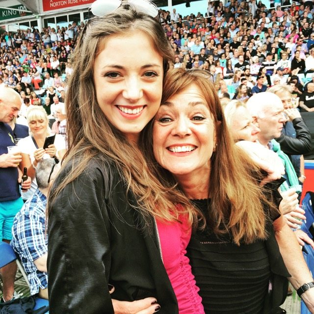 Me and daughter at Elton John Concert