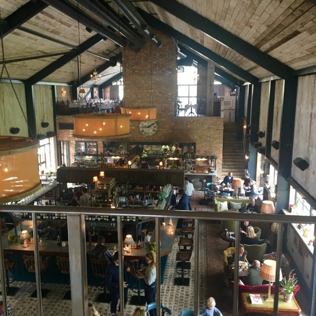 Soho Farmhouse bar