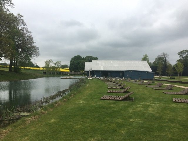 Soho Farmhouse pool
