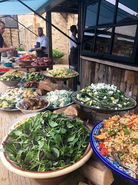 Soho Farmhouse food